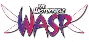 The Unstoppable Wasp (2017) logo.png