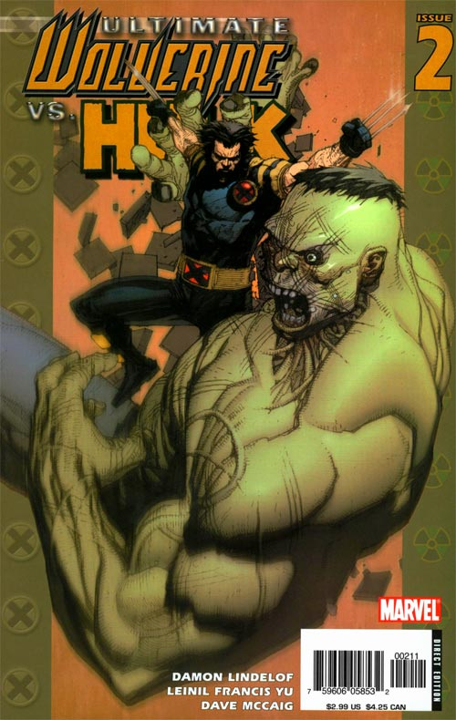 Ultimate Wolverine vs. Hulk Vol 1 2