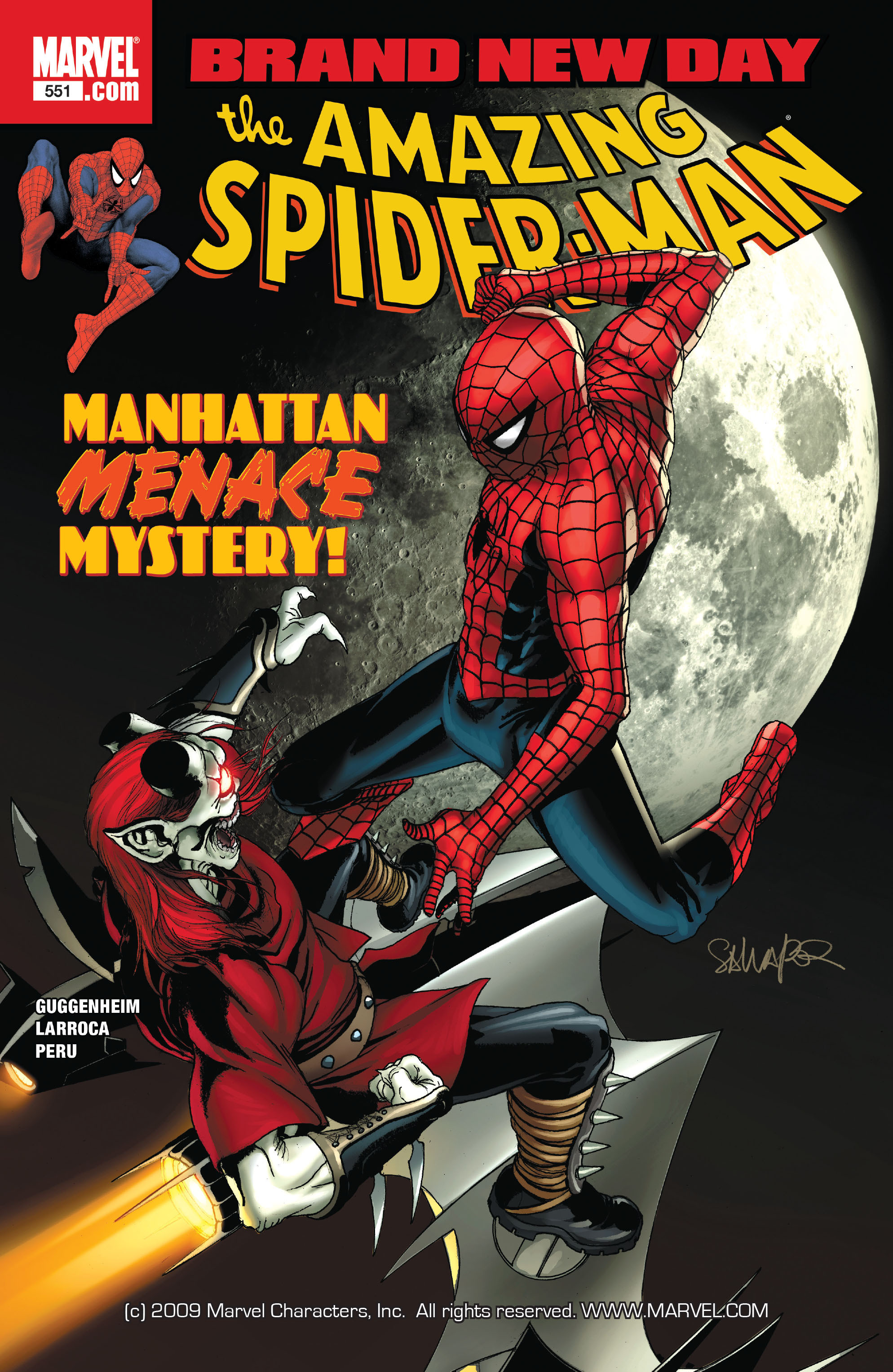 Amazing Spider-Man Vol 1 551