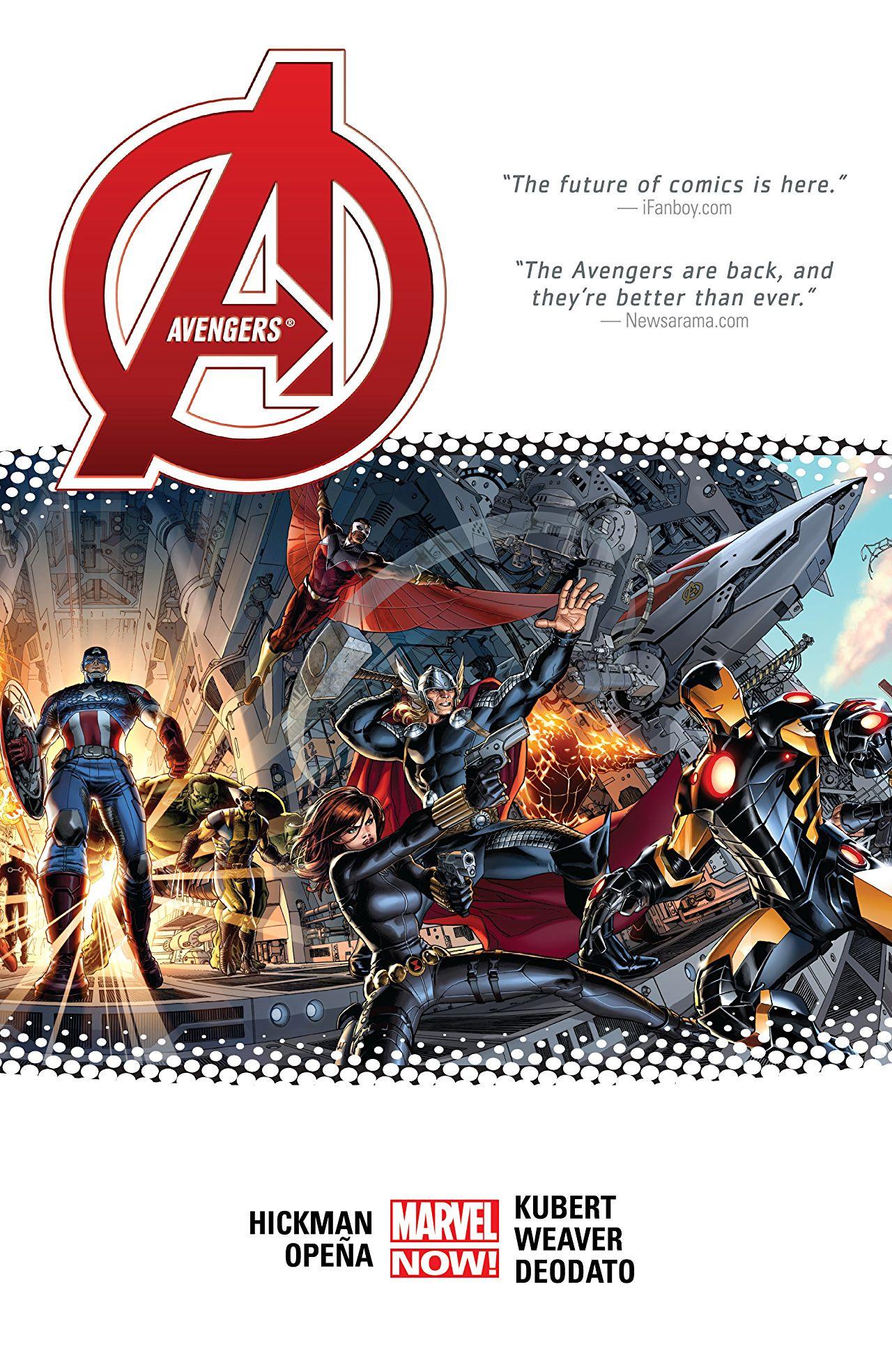 Avengers by Jonathan Hickman Vol 1 1