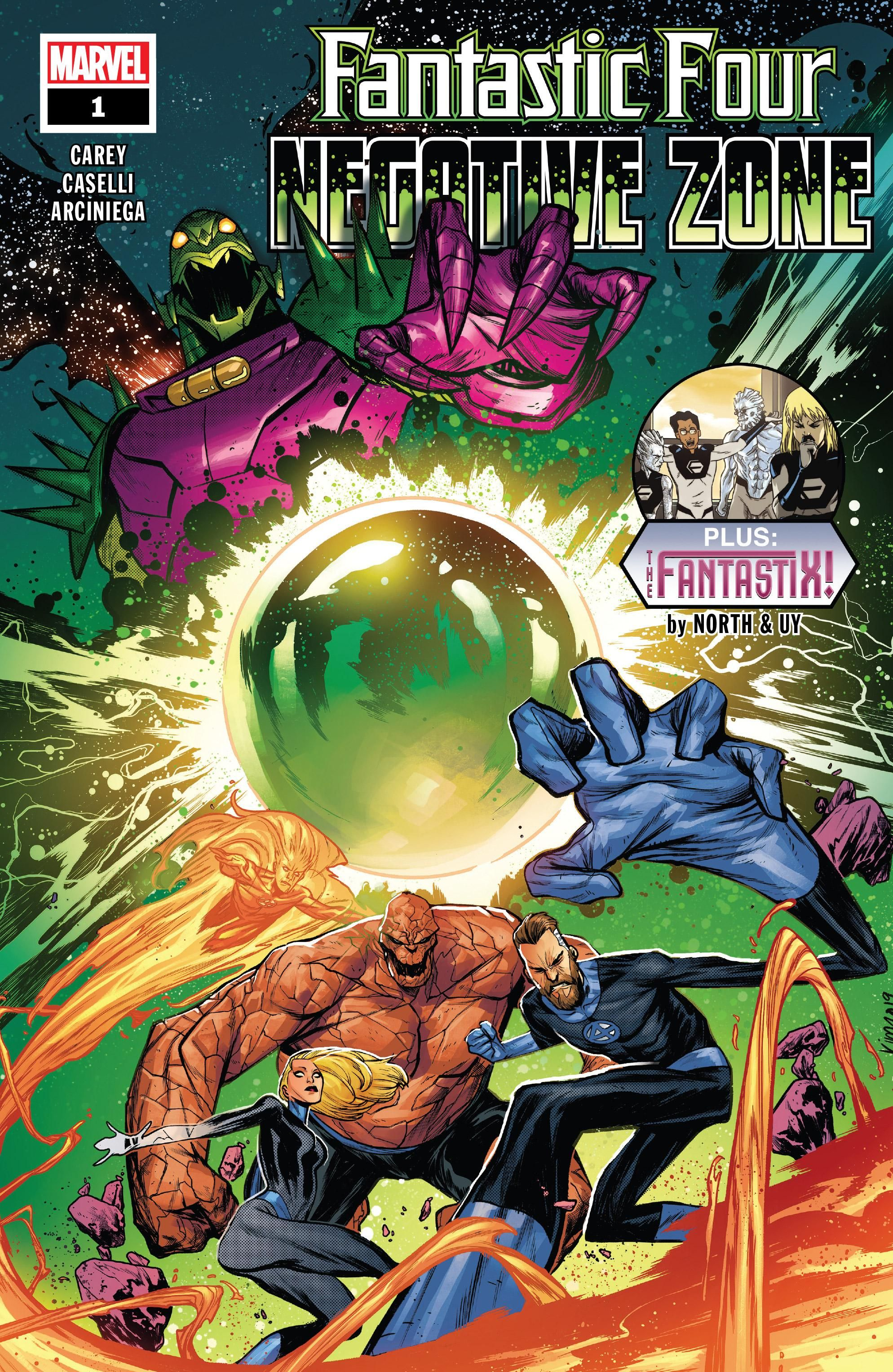Fantastic Four: Negative Zone Vol 1 1