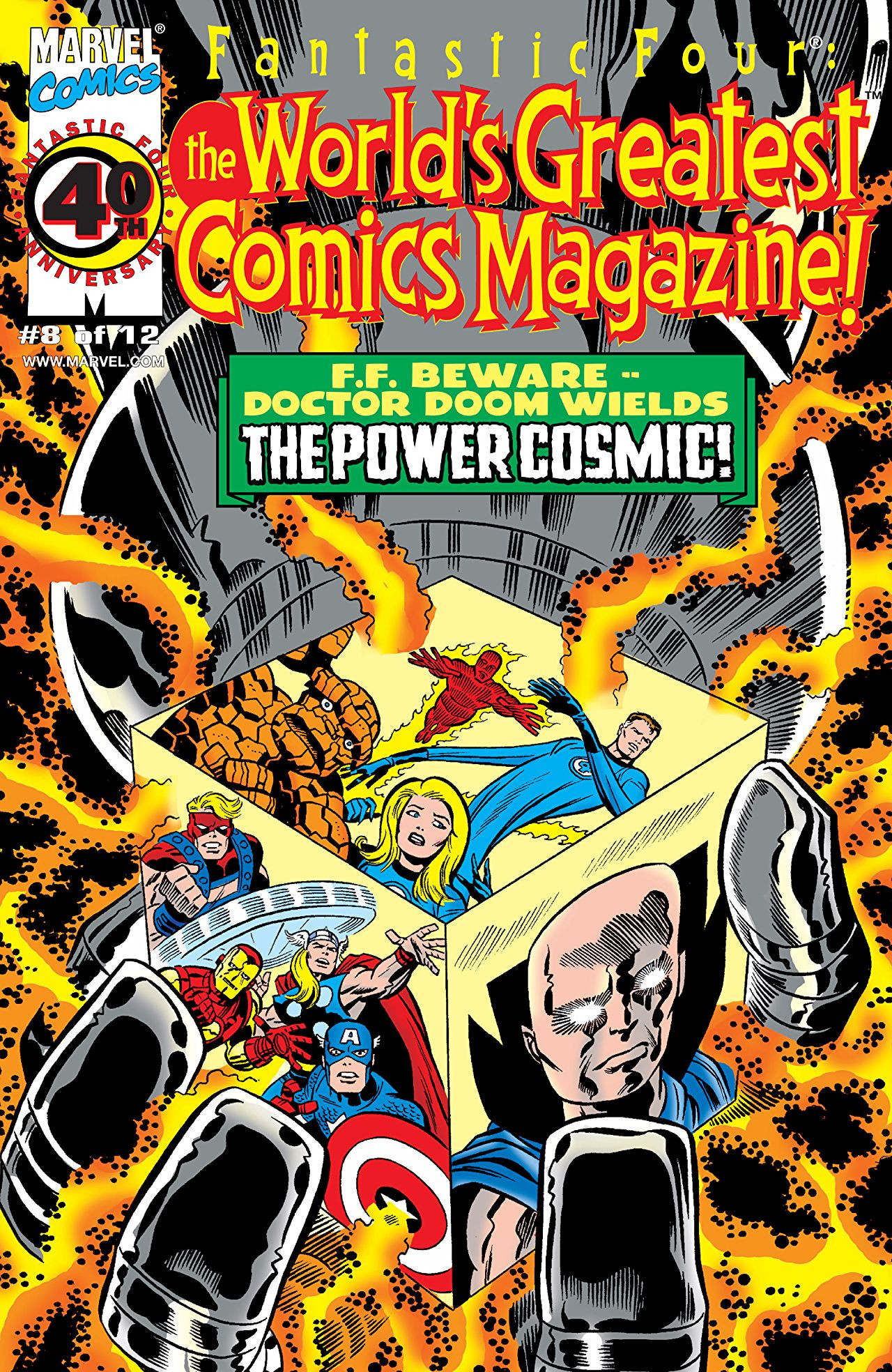 Fantastic Four: World's Greatest Comics Magazine Vol 1 8