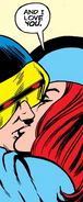 Jean Grey (Earth-616) and Scott Summers (Earth-616) from X-Men Vol 1 94 001