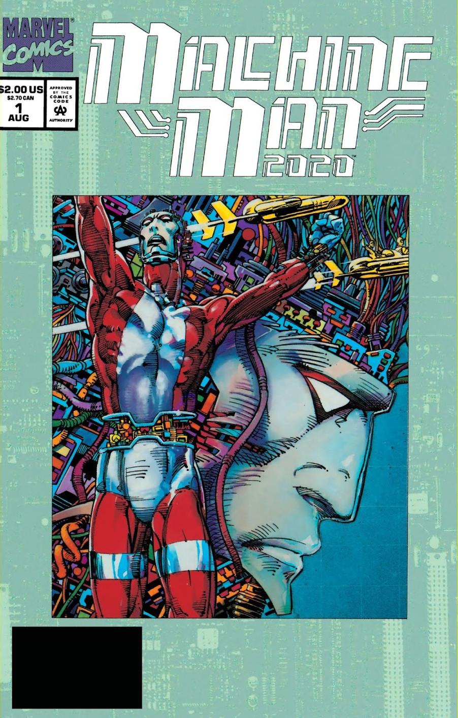 Machine Man 2020 Vol 1 1