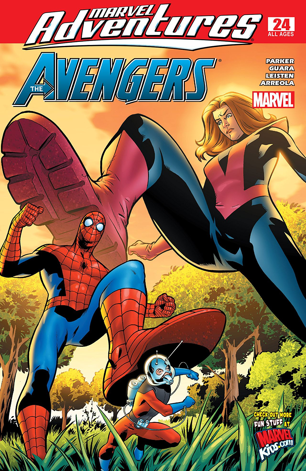 Marvel Adventures: The Avengers Vol 1 24