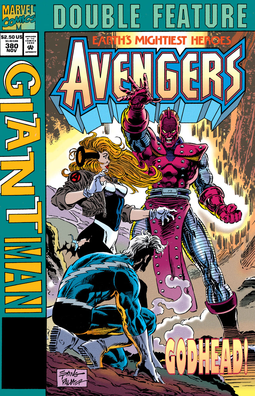Marvel Double Feature...The Avengers/Giant-Man Vol 1 380