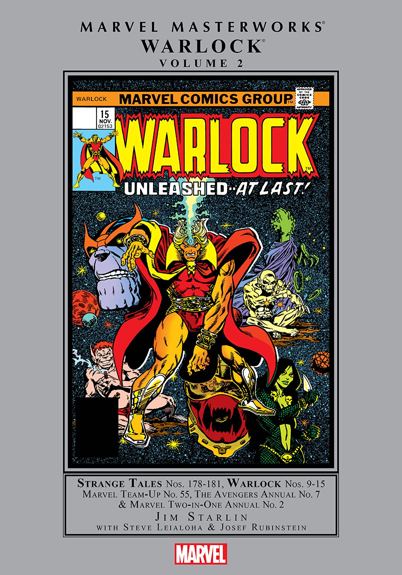 Marvel Masterworks: Warlock Vol 1 2