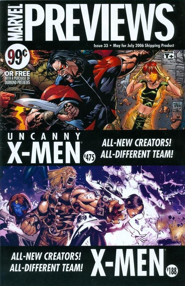 Marvel Previews Vol 1 33