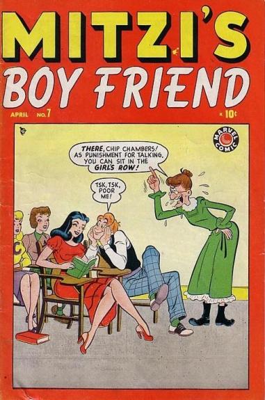 Mitzi's Boy Friend Vol 1 7