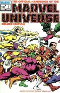Official Handbook of the Marvel Universe Vol 2 1