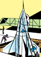 Pogo Plane Mk I from Fantastic Four Vol 1 9 0001