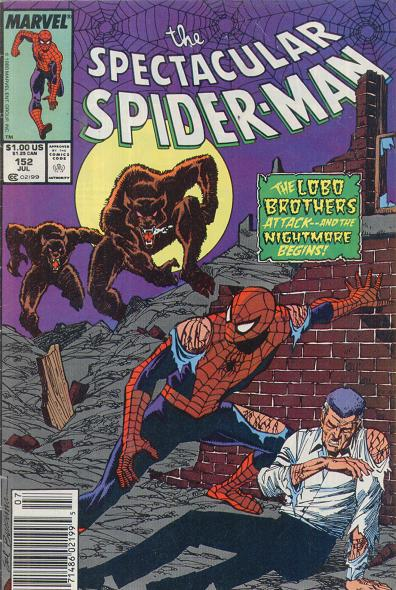 Spectacular Spider-Man Vol 1 152