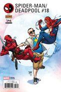 Spider-Man Deadpool Vol 1 18 Stan Lee Box Exclusive Variant
