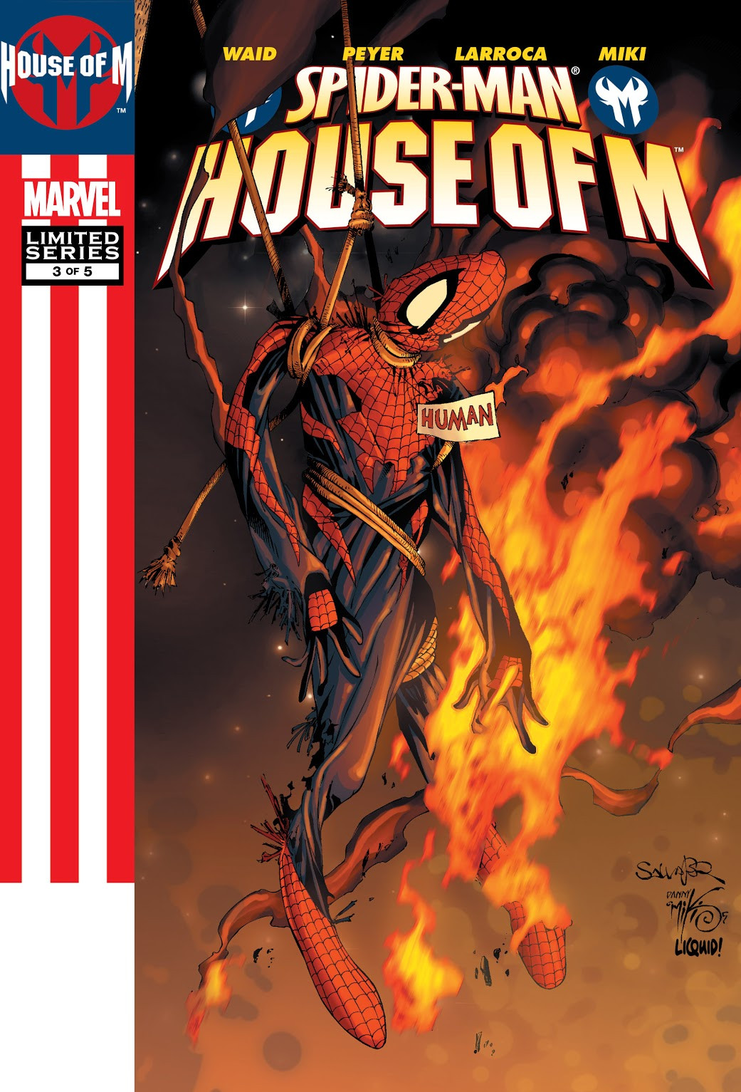 Spider-Man: House of M Vol 1 3
