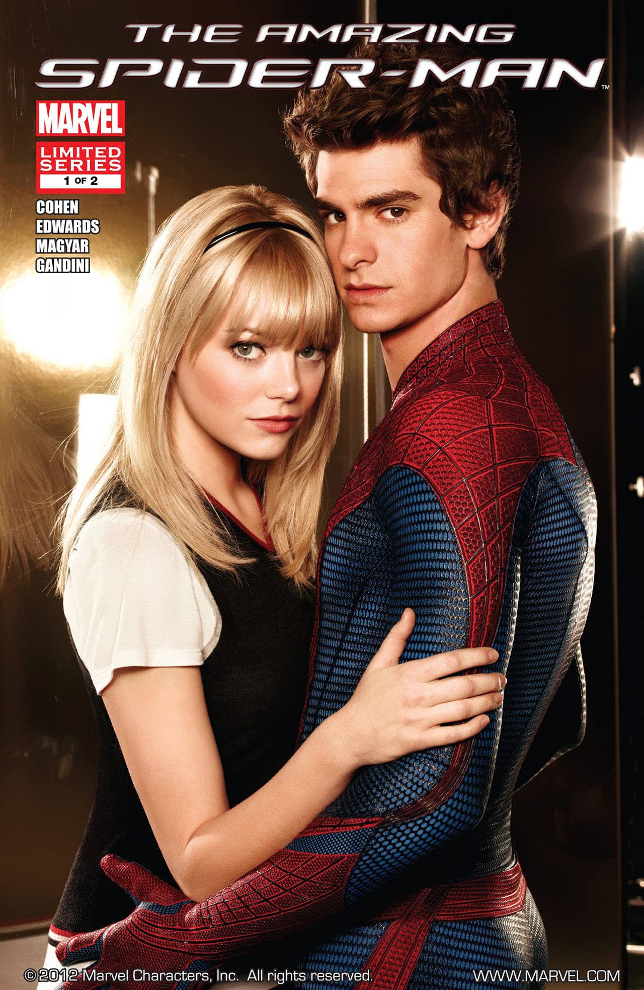 The Amazing Spider-Man: The Movie Vol 1