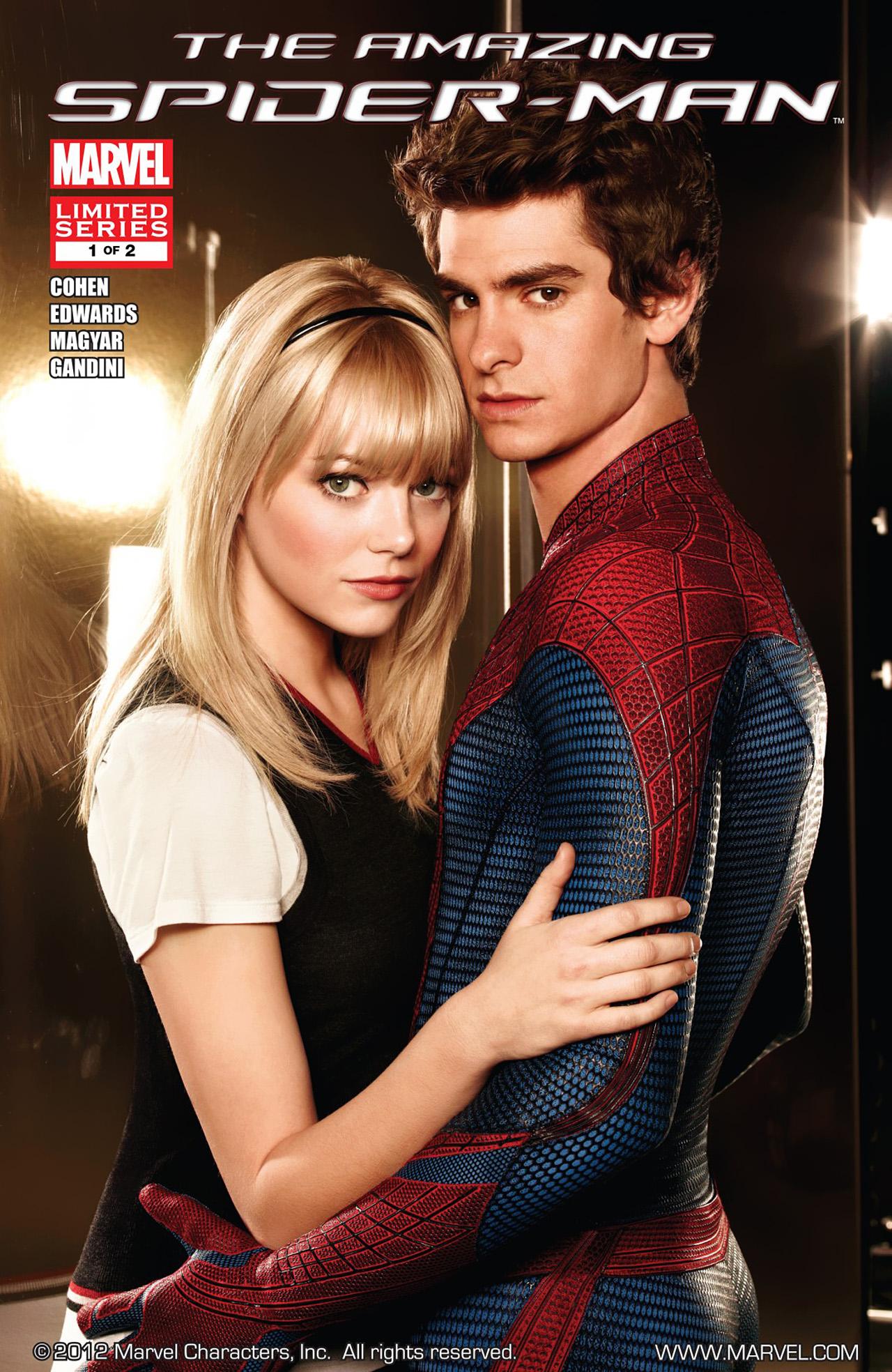 The Amazing Spider-Man: The Movie Vol 1 1