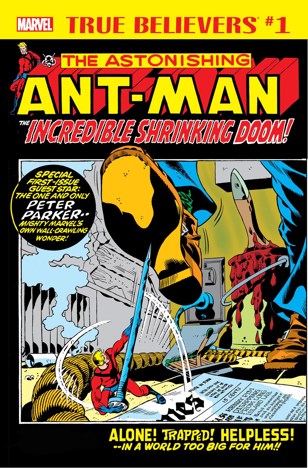 True Believers: Ant-Man - The Incredible Shrinking Doom Vol 1