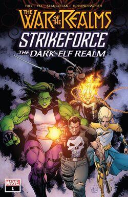 War of the Realms Strikeforce The Dark Elf Realm Vol 1 1.jpg