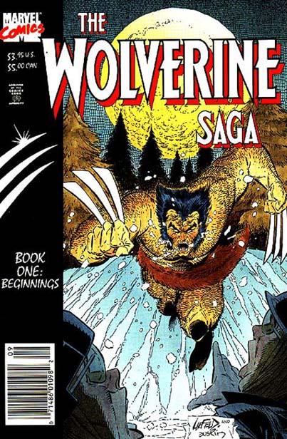 Wolverine Saga Vol 1 1