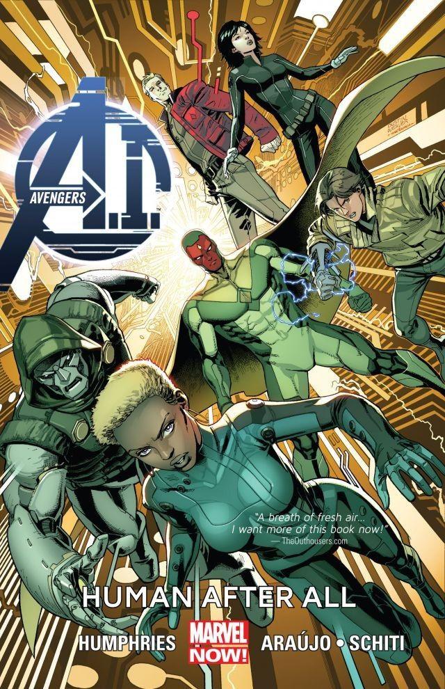Avengers A.I. TPB Vol 1 1: Human After All