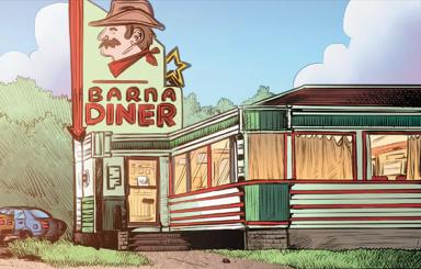 Barna Diner/Gallery
