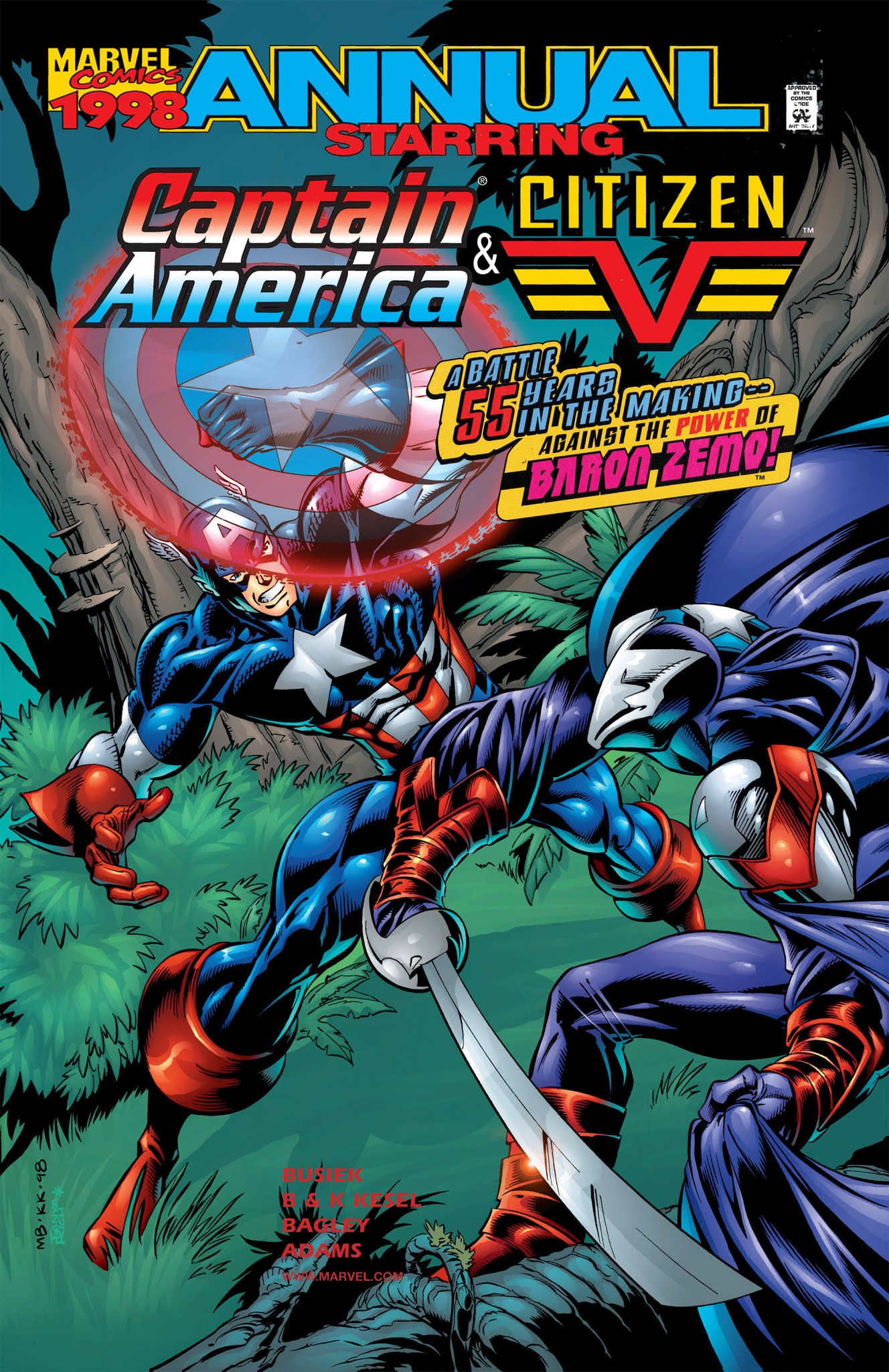 Captain America & Citizen V Annual Vol 1 1998