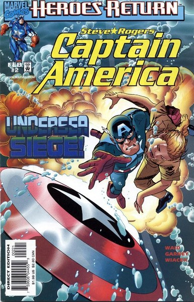 Captain America Vol 3 2