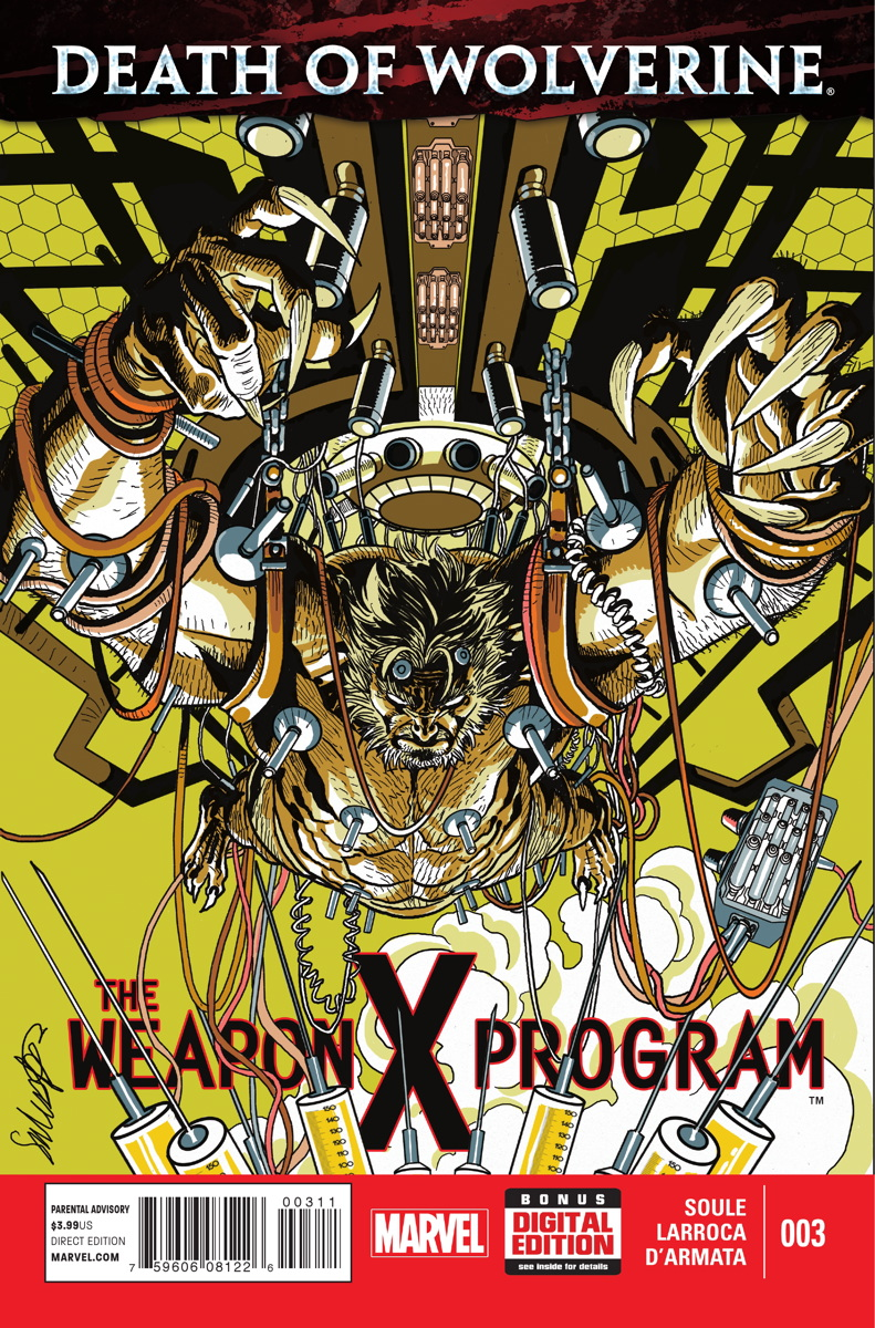 Death of Wolverine: The Weapon X Program Vol 1 3
