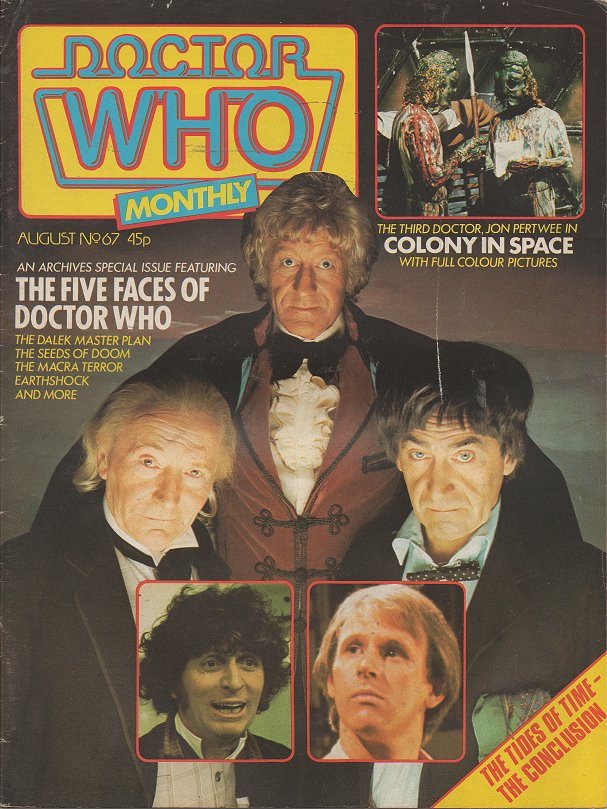Doctor Who Monthly Vol 1 67