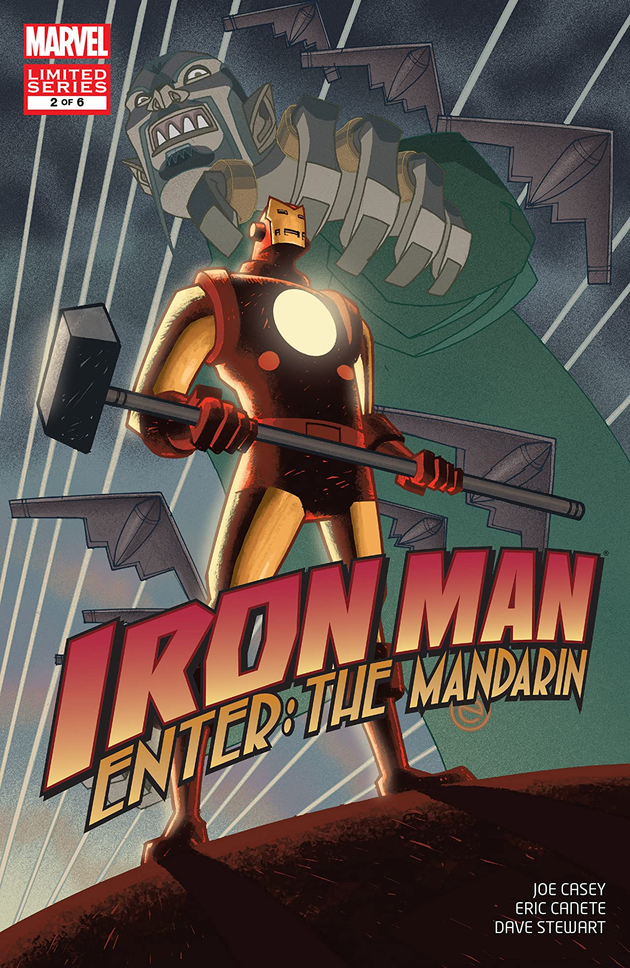 Iron Man: Enter the Mandarin Vol 1 2