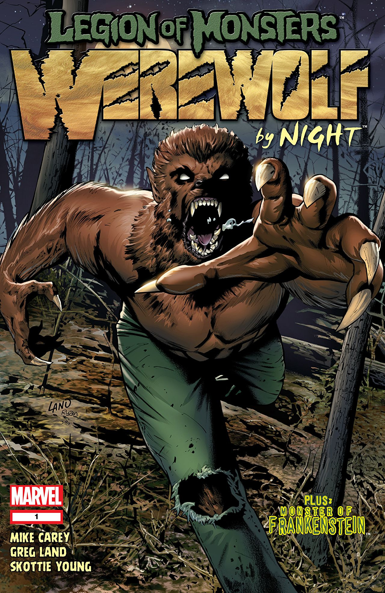 Legion of Monsters: Werewolf by Night Vol 1 1