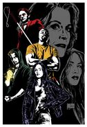 Marvel's The Defenders textless poster 001
