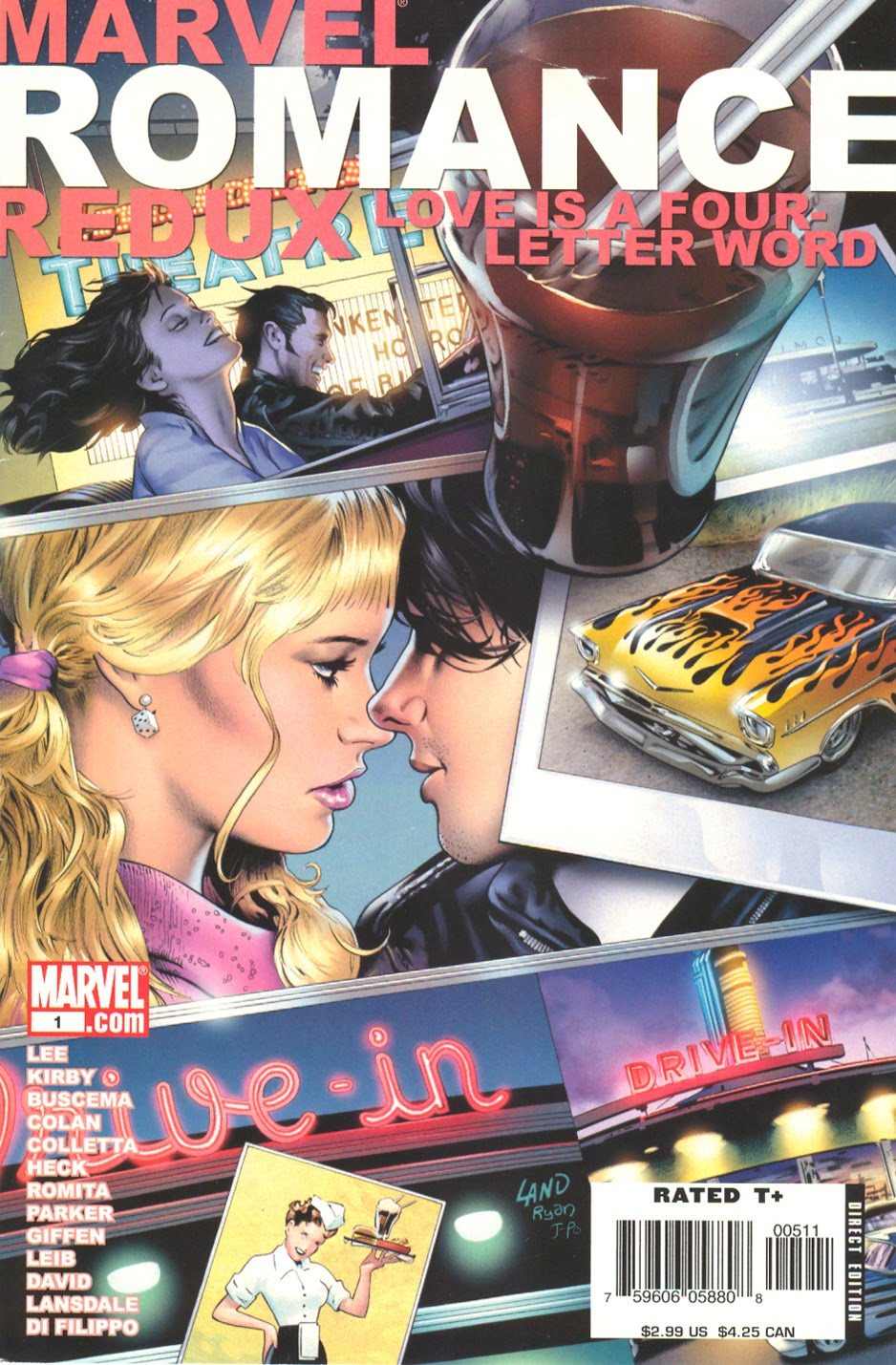 Marvel Romance Redux: Love Is a Four-Letter Word Vol 1 1
