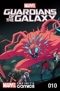 Marvel Universe Guardians of the Galaxy Infinite Comic Vol 1 10