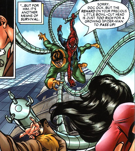 Otto Octavius (Earth-52136) from What If Aunt May Had Died Instead of Uncle Ben? Vol 1 1 001.jpg