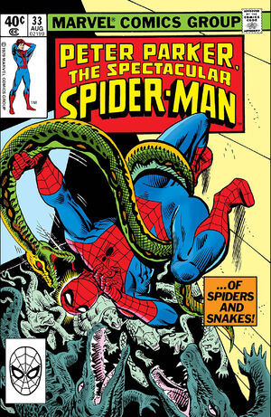 Peter Parker, The Spectacular Spider-Man Vol 1 33.jpg