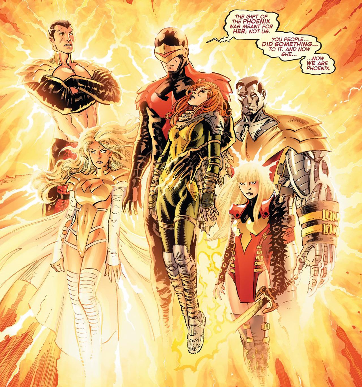 Phoenix Five (Earth-616)/Gallery