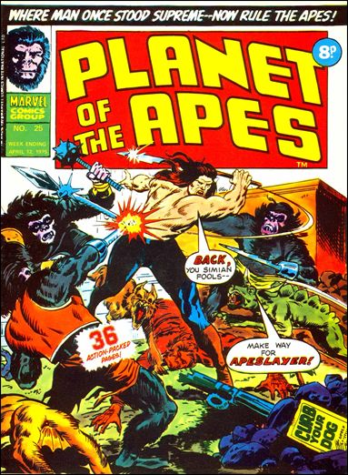 Planet of the Apes (UK) Vol 1 25