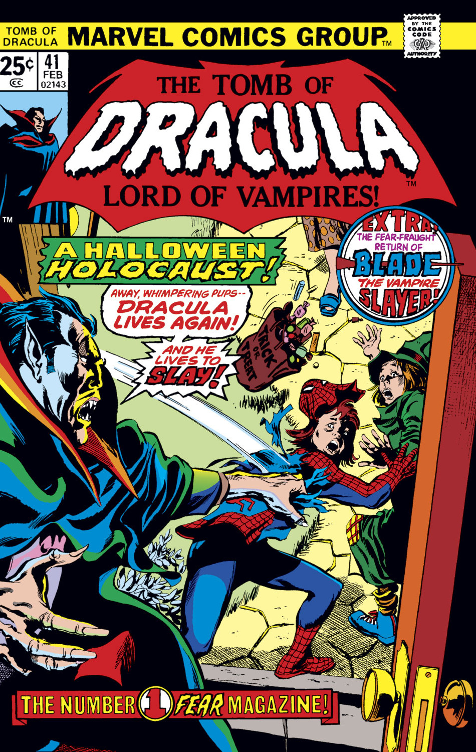 Tomb of Dracula Vol 1 41