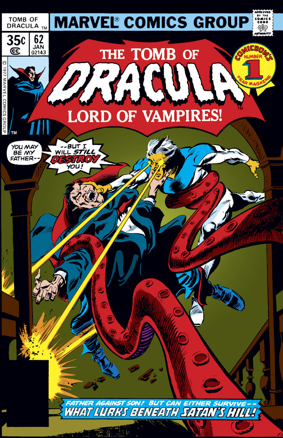 Tomb of Dracula Vol 1 62