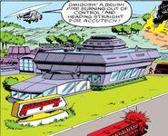 AccuTech Research & Development Complex from Iron Man Vol 1 219 001