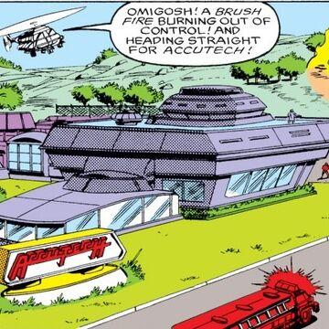 AccuTech Research & Development Complex from Iron Man Vol 1 219 001.jpg