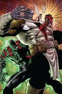 Arthur Douglas and Thanos (Earth-616) from Annihilation Vol 1 4 0001