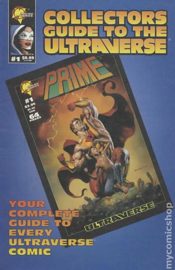 Collectors Guide to the Ultraverse Vol 1