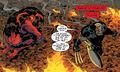 Elizabeth Ross (Earth-616) and James Howlett (Earth-616) from Hulk Vol 2 16 0001