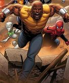 Luke Cage (Earth-616) from Mighty Avengers Vol 2 1 cover 001