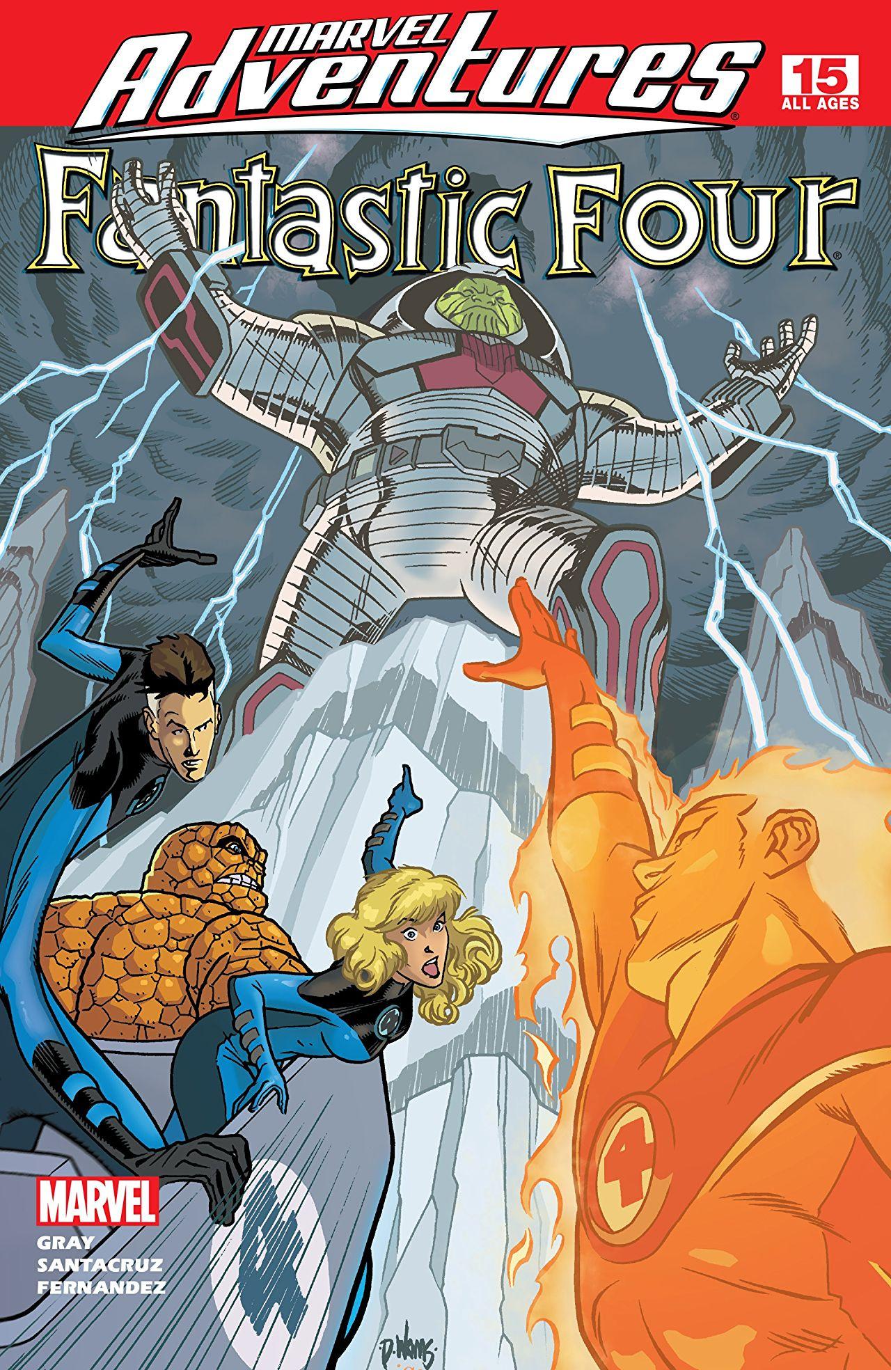 Marvel Adventures: Fantastic Four Vol 1 15