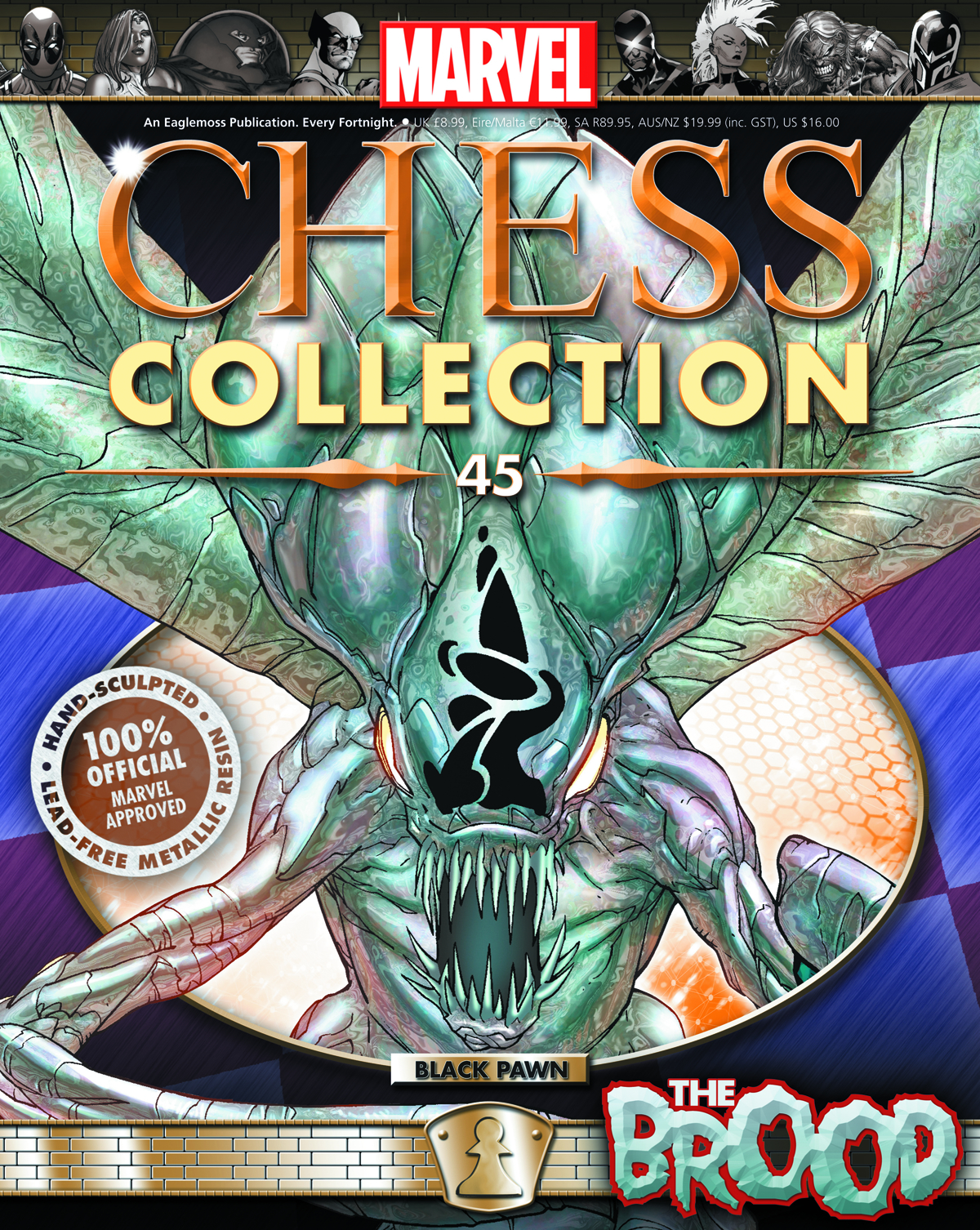 Marvel Chess Collection Vol 1 45