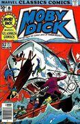 Marvel Classics Comics Series Featuring Moby Dick Vol 1 1