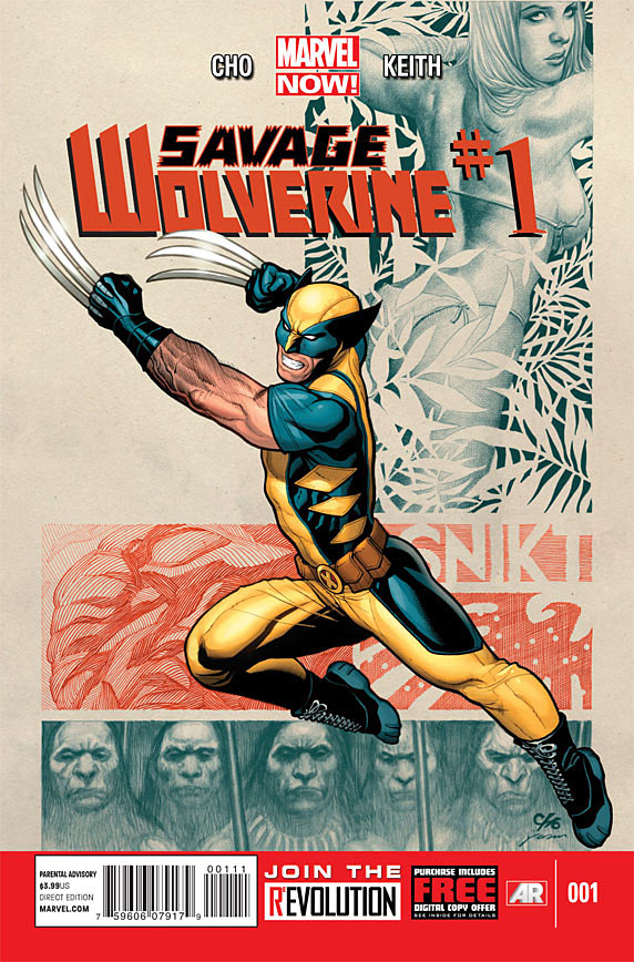 Savage Wolverine Vol 1 1